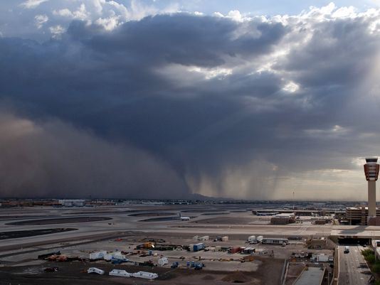 Monsoon Season In The Phoenix Metro Area Repost The Roof Medics
